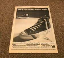 """11/3/78PN36 PRO-KEDS SHOES FROM UNIROYAL POSTER SIZE ADVERT 15X11"""""""