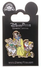 2012 Disney Jerry Leigh Snow White & Dwarfs Group Pin With Packing