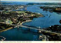 Great Britain Postcard Tamar Bridge Devon Brücke England, PLYMOUTH Aerial View