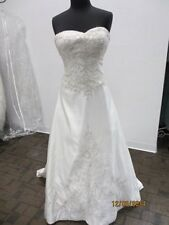 Kenneth WInston-1491 Bridal Dress-  Size 12- ivory (17L)