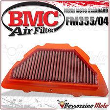 FILTRE À AIR SPORTIF BMC LAVABLE FM355/04 YAMAHA YZF1000 R1 2004 05