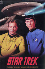 LEONARD NIMOY & WILLIAM SHATNER STAR TREK Signed Photograph TV Actors - Preprint