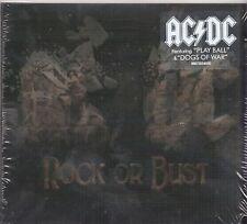 AC/DC - ROCK OR BUST (DIGIPAK 2014) HOLOGRAMMCOVER NEU + OVP
