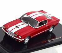 FORD Mustang SHELBY GT 350 - 1965 - red / white - IXO 1:43