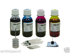 *Refill Ink kit for Canon MP190 MP260 MX300 MP310 MP460 MP470 4color +4sy 16oz