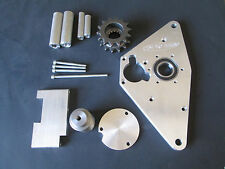 HAYABUSA DUAL SPROCKET BILLET COVER BLOCK PROTECTOR BEARING SUPPORT RACE