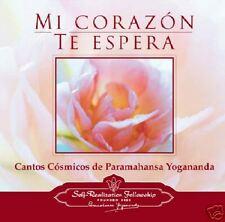 PARAMAHANSA YOGANANDA: MI CORAZON TE ESPERA - 2-CD - Cantos Cosmicos en Español