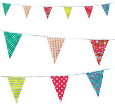 Vintage Print Bunting Wedding Baby Birthday Party Chic Flags 10 Metres C1001