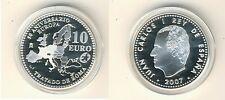 España 10 euro 2007 50 años de los Tratados de Roma pp (m00310)