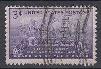 USA Briefmarke gestempelt 3c Fort Kearny Nebraska 1948 1948 / 3866