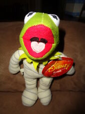 Frog Kermit in Halloween costume dressed as Mummy Disney the Muppets 2013 plush