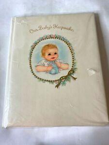 Vintage Hallmark Our Baby's Keepsake Book Boy Girl Unisex Shower Gift Unused USA