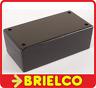 CAJA PLASTICO NEGRA ABS PARA MONTAJES ELECTRONICA 105X59X39MM ARICA803N BD7824
