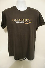 James Bond 007 Rare Mens Goldeneye Reloaded TShirt Size Large Official Promo NEW