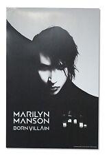 Marilyn Manson Born Villain Black & White Poster New Official