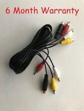 NEW RCA AV Audio Video TV cable cord Hookup for 8 Bit NES Nintendo System