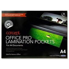 A4 150 Micron(2X75) Laminating Pouches Pack OF 100 SIZE 216X303MM.