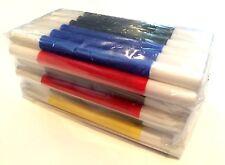 "36 MINI MAGIC WANDS Multi Color Tiny 4"" Pack Plastic Magician Trick Set Toy Gift"