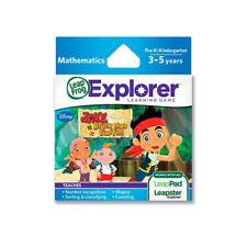 Disney Jake & Never Land Pirates LeapFrog Leapster LeapPad Learning Game 3-5 yrs