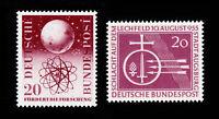 GERMANY DEUTSCHE BUNDESPOST SCOTT #731-732 MNH-OG 1955