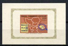 Turkey 1966 SG#MS2157 Balkanfila MNH M/S #A35804