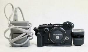 Olympus Pen-F 20.3MP Micro 4/3 Camera (Black) Body Only - MUST SEE! (5311)