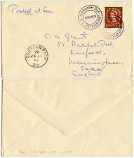More details for gb 1960 wilding 2d left band fine used on ship m.s bayernstein sg613