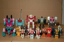 Transformers Combiners G1 Lot!  aka Scramble City Originals and Rare!