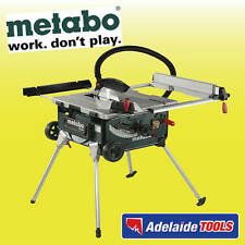 Metabo 2000 Watt 254mm Table Saw With Stand - TS254