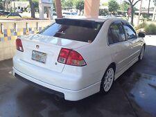 Speedzone Rear Roof Visor With Brackets Civic 01 02 03 04 05 4dr