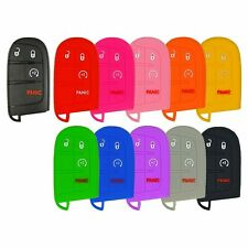 Silicone Protective Rubber Keyless Remote Fob Prox Smart Key Cover Case Fiat Ram