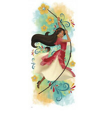 Disney PRINCESS ELENA of AVALOR wall sticker MURAL 1 decal girl's room decor