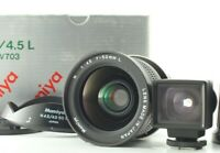 [Top Mint in Box] Mamiya N 50mm f/4.5 L Lens for Mamiya 7,7II w/ ViewFinder,Hood