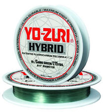 Yozuri 12Lb Camo Green Fluorocarbon Nylon Hybrid Fishing Line 275 Yd Leader