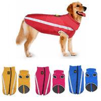 Ropa gruesa Chaqueta de perro Impermeable. Abrigo de mascota Chaqueta de perro