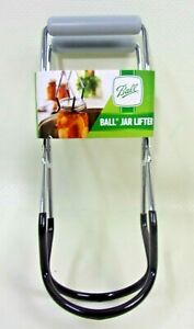 BALL Canning Jar Lifter Grabber Tongs Insulated Handle Regular & Wide Mouth