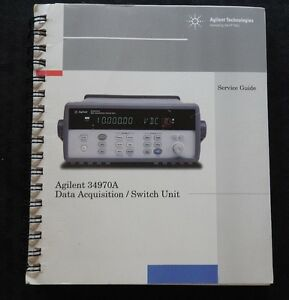HEWLETT PACKARD Agligent 34970A Dati Acquisizione Switch Unità Servizio Manuale