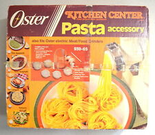 Vintage OSTER Kitchen Center Pasta Accessory 939-65 Made in U.S.A. w/ extra part