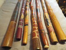 More details for job lot of 8 didgeridoos termite eaten