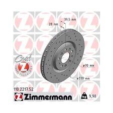 2 Bremsscheibe ZIMMERMANN 110.2217.52 SPORT COAT Z passend für ALFA ROMEO JEEP