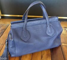 .AUTHENTIC GUCCI TASSEL 354469 BLUE HAND BAG