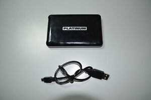 Platinum 125417, 500GB 2,5 Zoll SATA externe Festplatte USB2.0