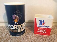 Think Giant Salt Huge Big Pepper Advertising Store Display Diner Photo Props