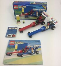 Lego Set 1992 Town Dragsters Vintage Rare Race Cars 100% W/ Box Instructions HTF