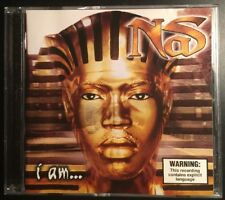 NAS 'I AM' 1999 CD Album Rap Hip-hop