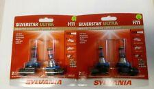 Sylvania SilverStar Ultra. H 11 HeadLight Bulb ,Fog ,  4 bulbs