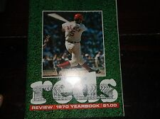 "Vintage Baseball 1970 ""REDS Review ""OFFICIAL Cincinnati Reds Yearbook"