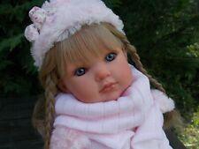 poupée réaliste brune d/'antonio juan avec tenue jouet-reborn neuf