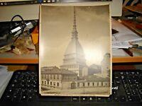 foto primi '900 originale TORINO   LA  MOLE NTONELLIANA - ED. ALINARI 14763