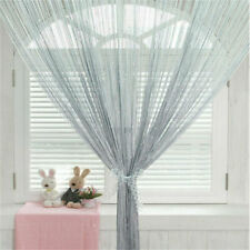 Door String Curtain Rare Flat Window Panel Any Room Divider Cute Strip Tassel
